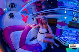 Hummer H3 limousine roze fotogalerij 2