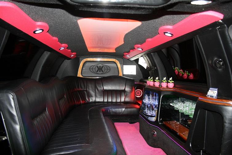 Lincoln limousine roze fotogalerij 2