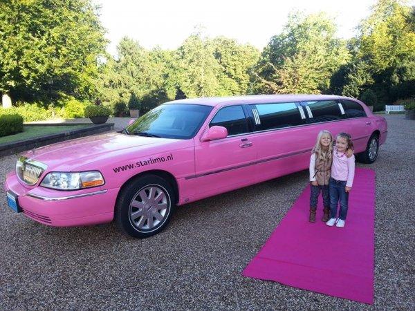 Lincoln limousine roze fotogalerij 3