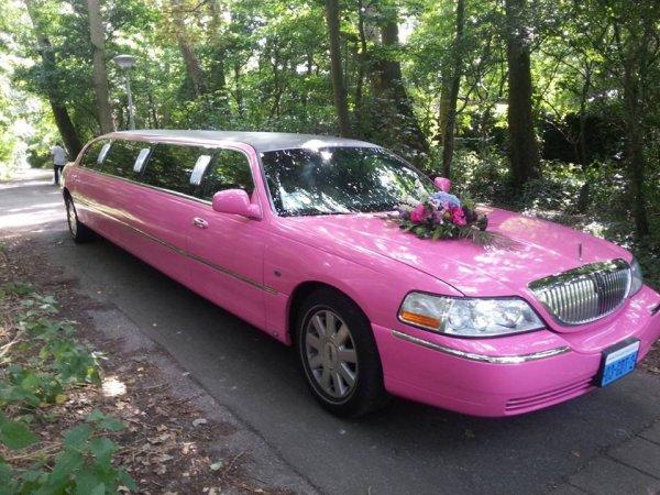 Lincoln limousine roze fotogalerij 4