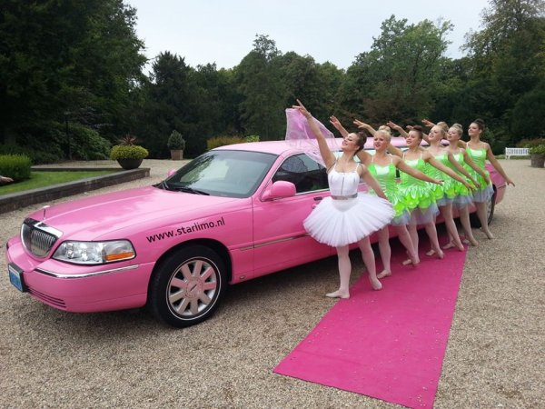 Lincoln limousine roze fotogalerij 5
