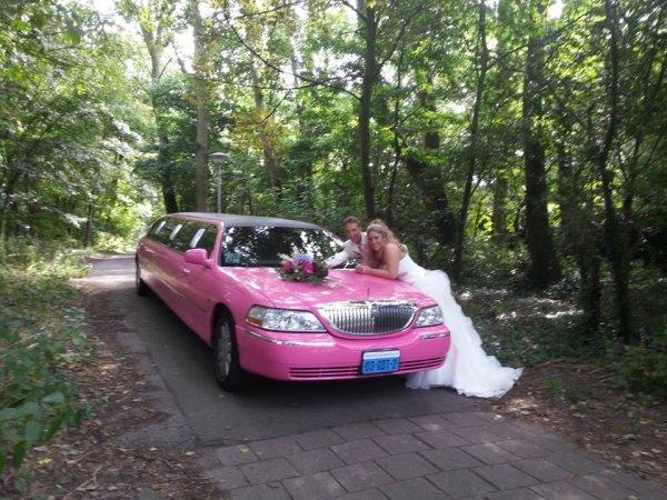 Lincoln limousine roze fotogalerij 6