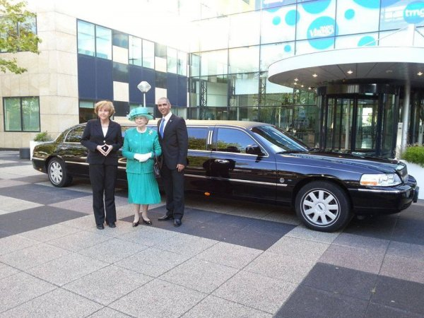 Lincoln limousine zwart - Lincoln fotogalerij 1