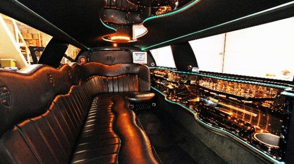 Lincoln limousine zwart - Lincoln fotogalerij 2
