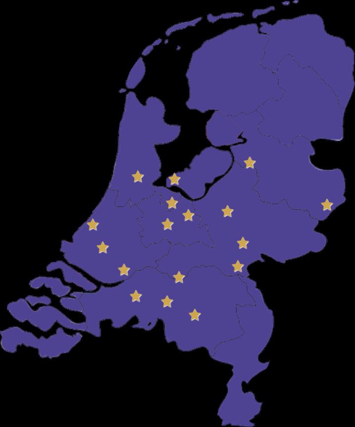 Limousine huren - Map Starlimo