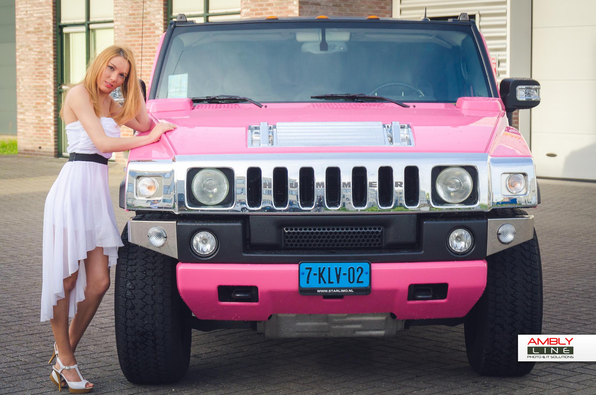 Hummer H2 roze fotogalerij 4