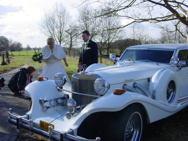 Excalibur limousine wit fotogalerij 1